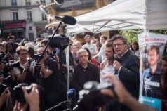 Intervention de Jean-Luc Mélenchon aux côtés de Paul Vannier
